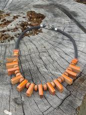 Collana in ceramica, ceramic necklace, collier en céramique