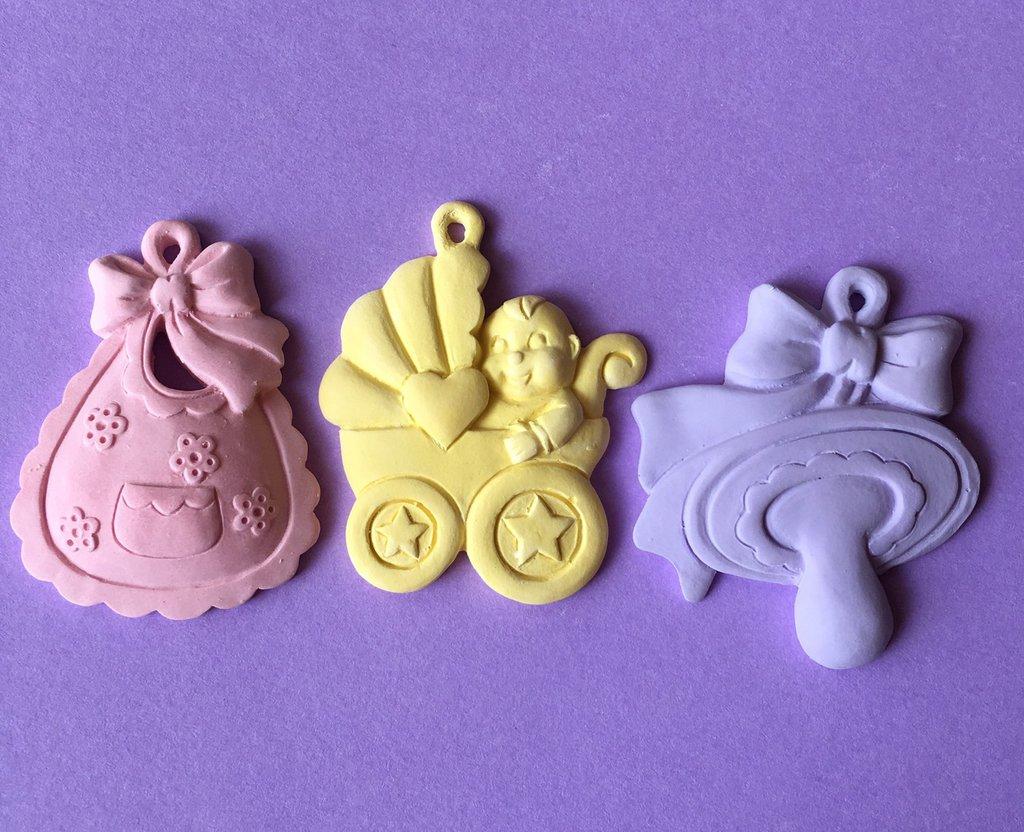 3 gessetti colorati profumati neonato