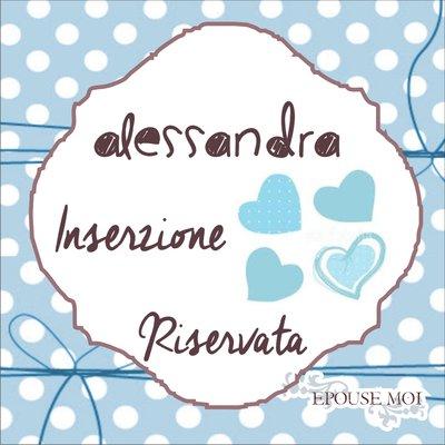 inserzione riservata Alessandra
