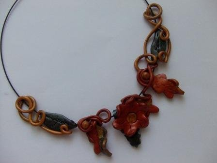 Warm Autumn Necklace