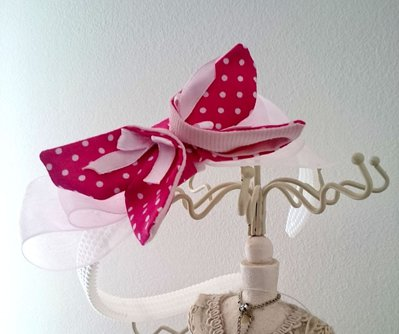 Frontino bimba con farfalla