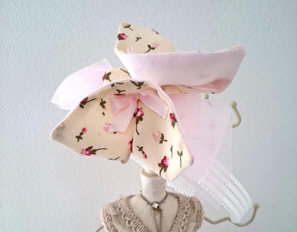 Cerchietto bimba con farfalla