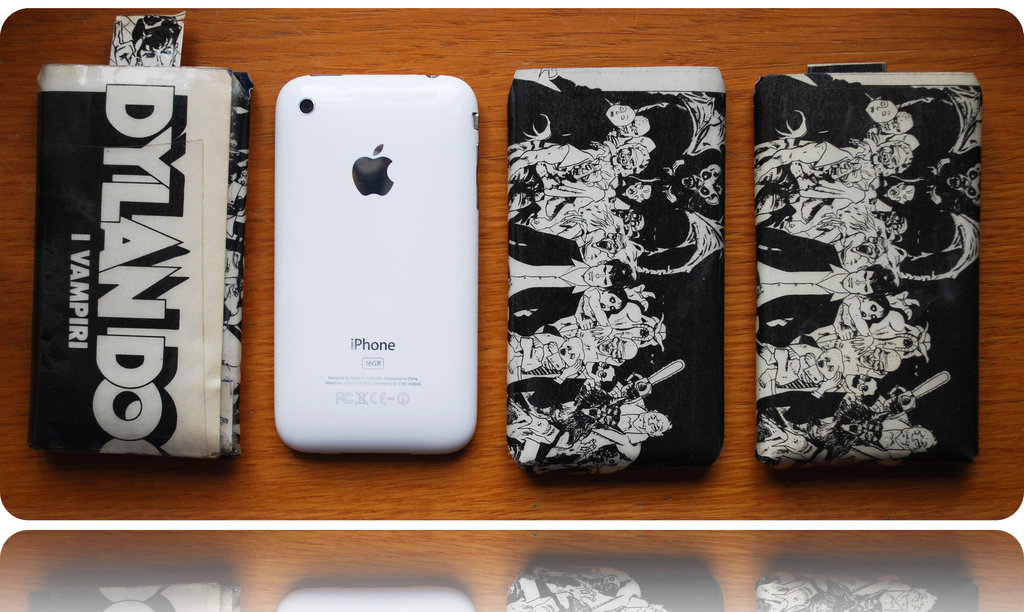 Custodie per iPhone in carta plastificata - Dylan Dog