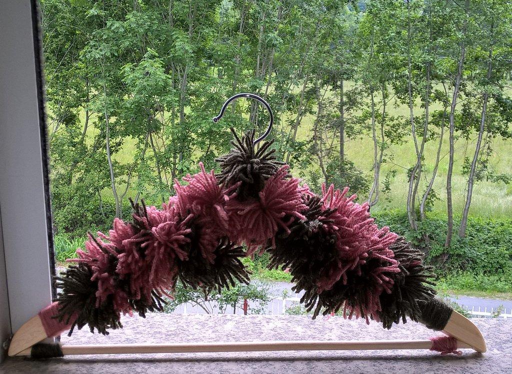Grucce in legno decorate
