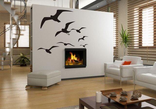 Adesivo per le pareti uccelli (3069n)