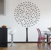 Adesivo per le pareti albero (3340n)