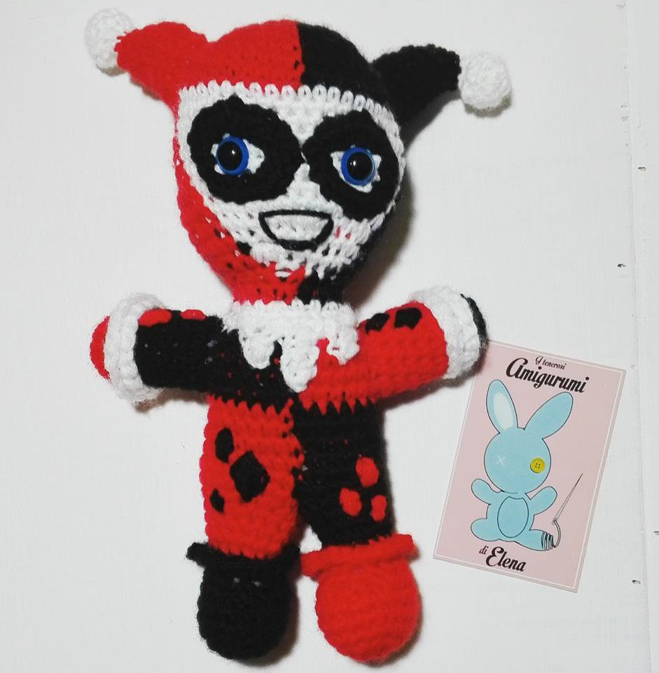 Harley Quinn Amigurumi - Per la casa e per te - Bambole e ...