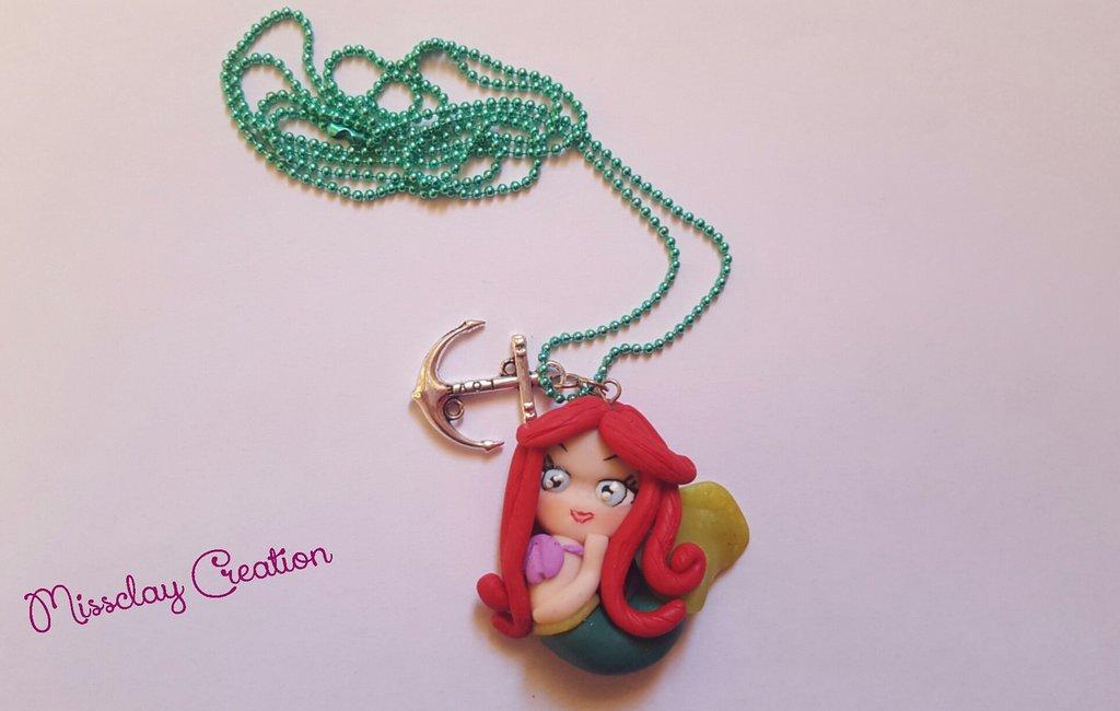 Collana Ariel fimo