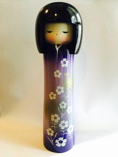 Bambola Kokeshi Ume Viola