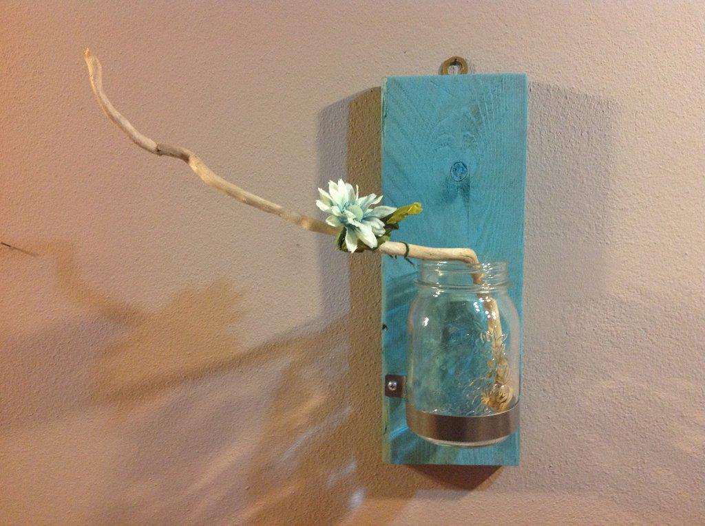 Porta vaso  da parete