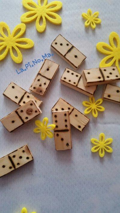 """Gioco in legno """"DOMINO"""""""