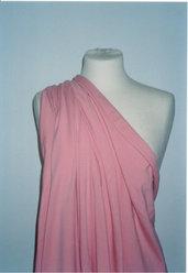 tessuto cotone bielastico rosa antico
