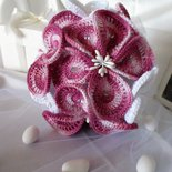 Bouquet sposa a uncinetto / Crochet Wedding Bouquet