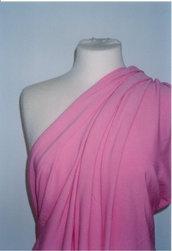 tessuto jersey viscosa elasticizzato rosa