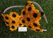 Cerchietto a Girasoli by Little Rose Handmade
