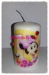 Bomboniera candela Minnie 1 compleanno