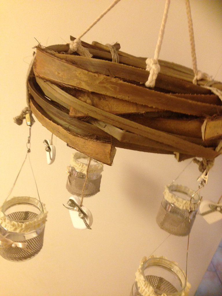 Ghirlanda o porta tea-light