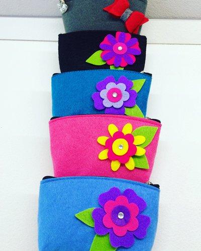 Pochette portamonete colorate