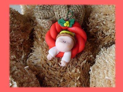 Ghirlanda Angelo Regalo Natale