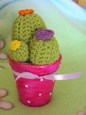 Cactus trio amigurumi