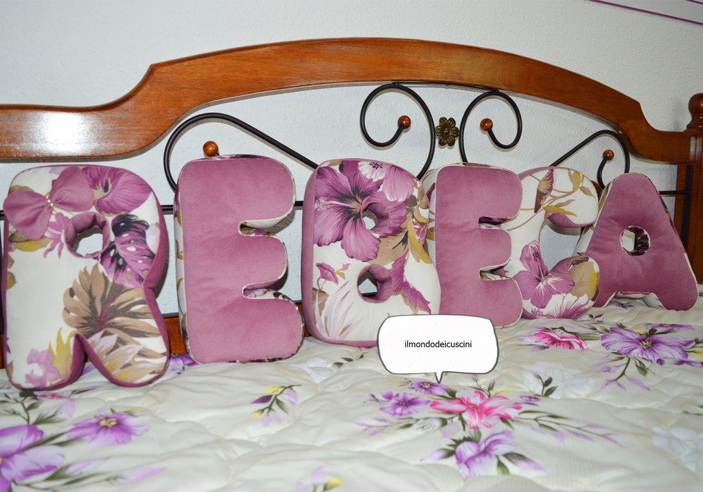 Letter pillow !