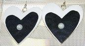 orecchini romantici cuori