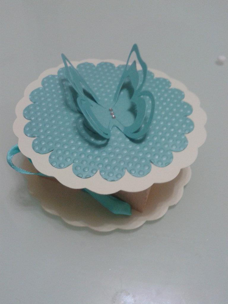 scatolina confetti  farfalla