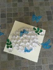 centro tavola farfalla
