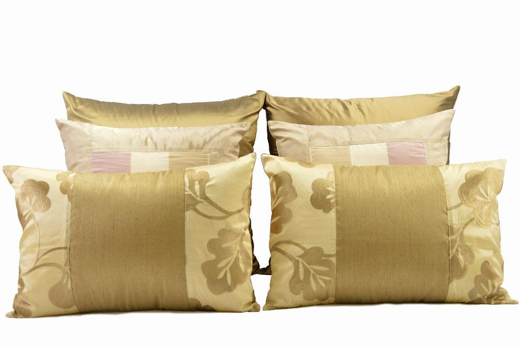 Set in seta da letto