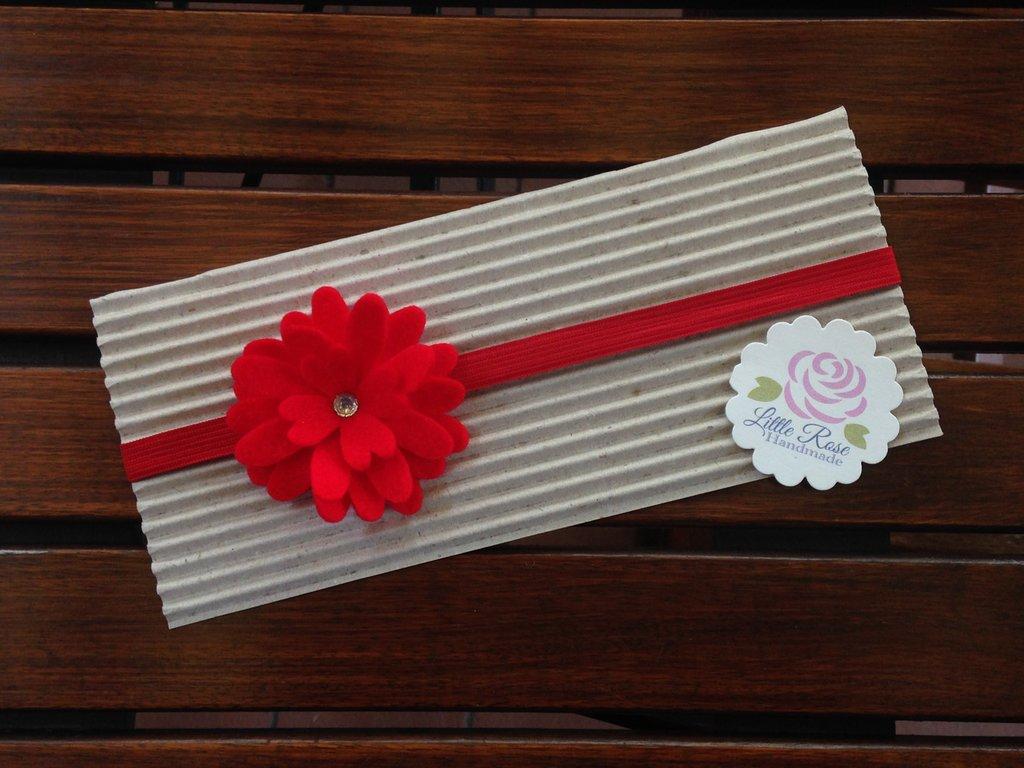 Fascia elastica per capelli buy Little Rose Handmade