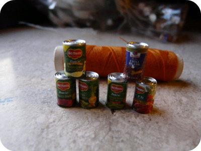 Miniature - Lattine di Ortaggi