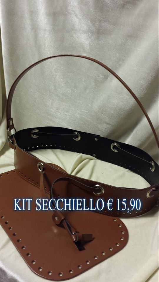 kit secchiello marrone