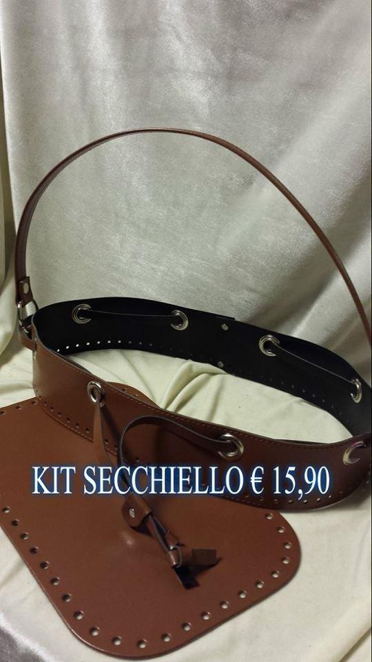 kit secchiello marrone