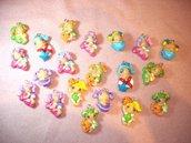 FIMO - kawaii - doll - LE FATE DEL MARE - un ciondolo a scelta - per orecchini collane - bomboniere - compleanno