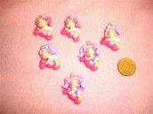 FIMO - kawaii - doll - LE FATE DEL MARE - un ciondolo a scelta mod.3 - per orecchini collane - bomboniere - compleanno