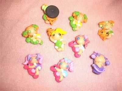 FIMO - kawaii - doll - LE FATE DEL MARE - calamita - bomboniere nascita compleanno idee regalo