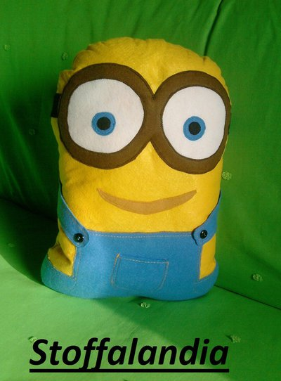 CUSCINO MINIONS 2 IDEA REGALO