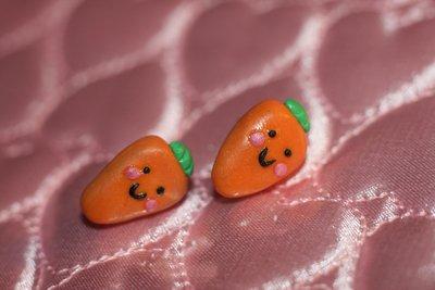 orecchini carotine kawaii