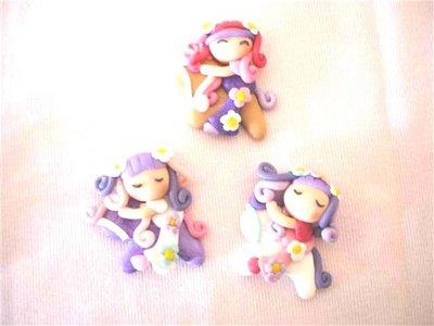 FIMO - kawaii - doll - FATINE e MINI PONY e FIORI   - un ciondolo a scelta per orecchini collane - bomboniere - compleanno