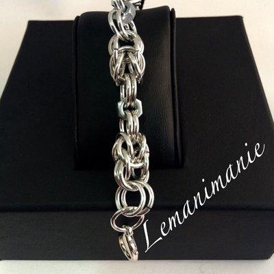 #bracciale #chainmail #bulloni