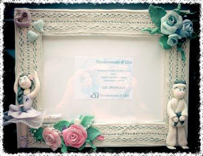 Cornice personalizzata per sposi