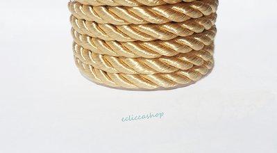 Cordoncino ritorto colore Ecru da 4-5 mm 1.5 M