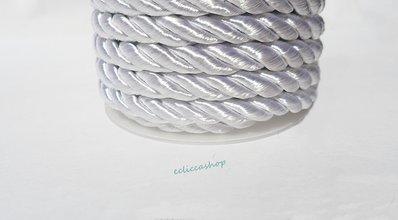 Cordoncino ritorto colore Bianco avorio da 4-5 mm 1.5 M