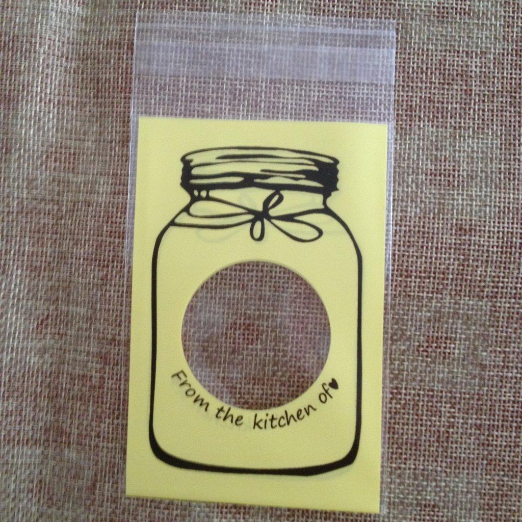 20 sacchettini adesivi