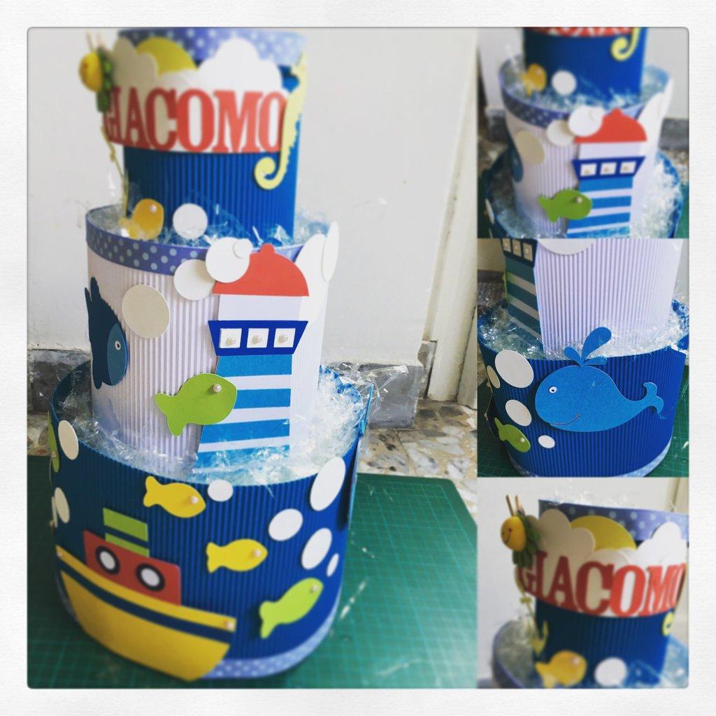 Torta pannolini per nascite
