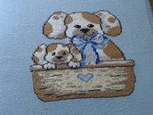 Copertina o copriletto in lana per bimbi