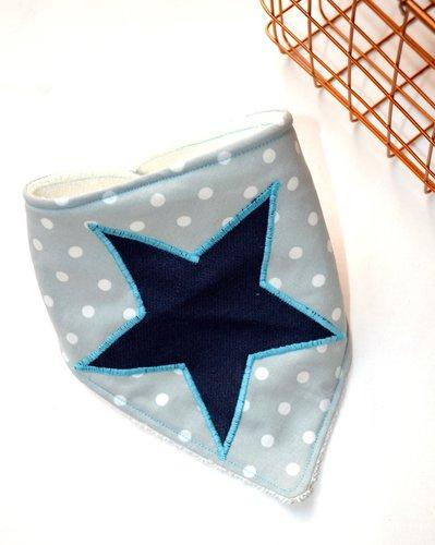Bavaglino a bandana con stella