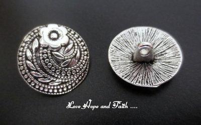 1 Paio di bottoni in metallo (17mm) (cod. new)
