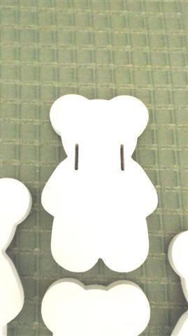 INSERZIONE RISERVATA PER LILLA - lotto orsetti legno - sostituiscono maniglie - no fimo