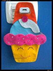 Porta cellulare muffin